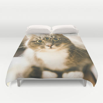 Take me to your leader Duvet Cover by HappyMelvin
