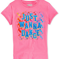 Layer 8 Girls' Just Wanna Dance T-Shirt