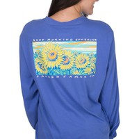 Lauren James Good Morning Sunshine Tee - Violet