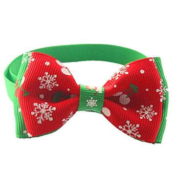 Christmas Pet Bow Tie Dogs