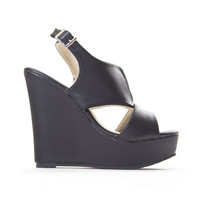 New Day Wedges In Black