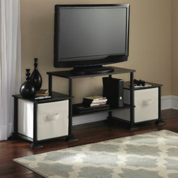 Walmart: Mainstays No Tools 3-Cube Storage Entertainment Center for TVs up to 40""