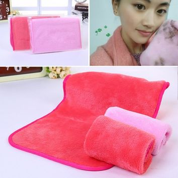 Microfiber Cloth Pads Remover Towel Face Cleansing Makeup Nov 11