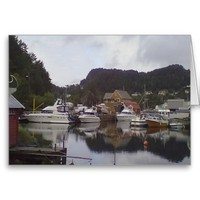 boat and sea greeting cards