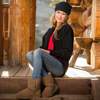 Clove by BEARPAW review color Hickory