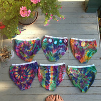 Tie Dye Underwear -  Size Medium