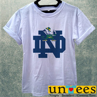 Notre Dame Fighting Irish Logo Women T Shirt