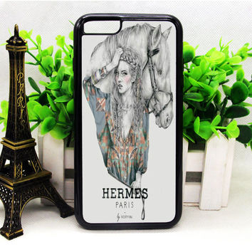 Hermes Paris Mary N iPhone 6 | 6 Plus | 6S | 6S Plus Cases haricase.com