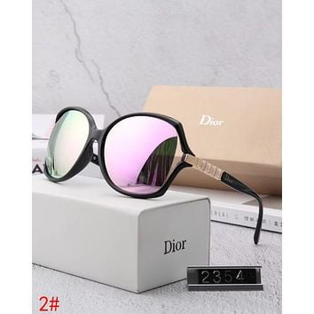 Dior Popular Women Personality Summer Sun Shades Eyeglasses Glasses Sunglasses 2# I12883-1