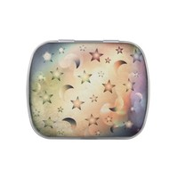 Moon and Stars Jelly Belly Candy Tin