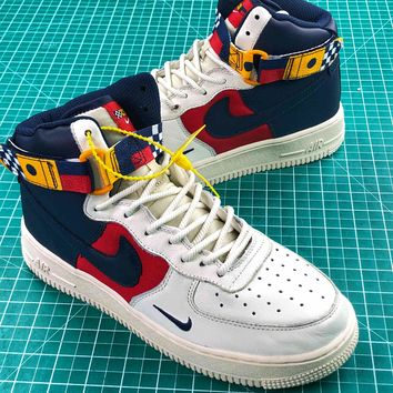 Nike Air Force 1 High Upstep Nautical Redux Sport Shoes - Best Online Sale