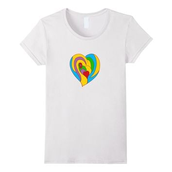 cute Heart Valentine's Day t-Shirt for kids