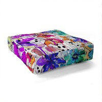 Holly Sharpe Lost In Botanica 1 Floor Pillow Square