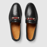 Gucci Men's Horsebit loafer with Web