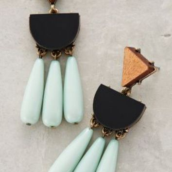 Naples Drops by BaubleBar x Anthropologie Mint All Earrings