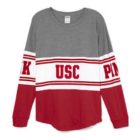 University of Southern California Bling Varsity Crew - PINK - Victoria's Secret