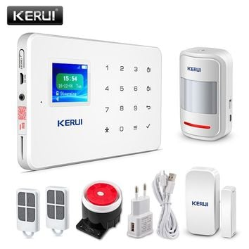 KERUI Touch GSM Wireless IOS/Android APP Control Home Alarm System
