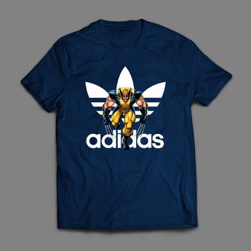 MARVEL'S WOLVERINE ADIDAS SPORTY ART T-SHIRT