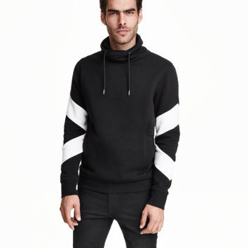 H&M Chimney-collar Sweatshirt $34.99