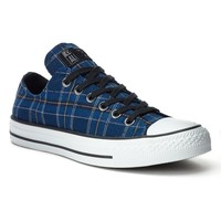 Converse All Star Plaid Sneakers for Women