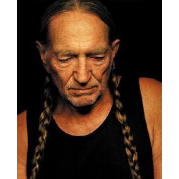 Willie Nelson Poster 16inx24in