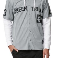 Been Trill Mesh Baseball Jersey - Mens Tee - Black