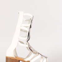 Murphy Strappy Open Toe Gladiator Sandal