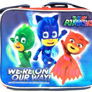 Boys Disney Junior Pj Masks We're on our ways! Lunch Bag/Box