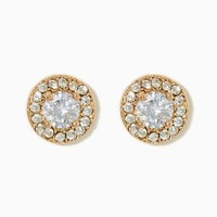 Small CZ Halo Studs | Fashion Jewelry – Earrings - RSVP | charming charlie