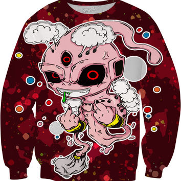 Kid Buu Finger Flip Sweatshirt