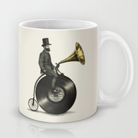 Music Man Mug by Eric Fan