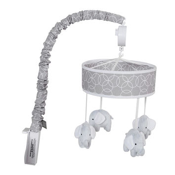 Trend Lab Gray and White Circles Crib Mobile