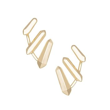 Billie Ear Climbers in Gold - Kendra Scott Jewelry