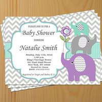 Baby Shower Invitation Neutral Baby Shower Invites Baby Shower Invitations Yellow Pink Blue Editable File -FREE Thank You card (12) download