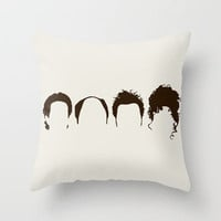 Seinfeld Hair Throw Pillow by Bill Pyle | Society6