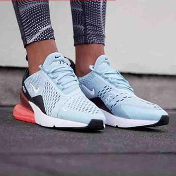 Nike Air Max 270 Stylish Women Personality Transparent Air Cushi b5a73744d1