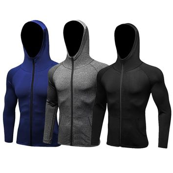 New's Cycling Jersey long Sleeve Jackets Running Sport Jackets Fitness Quickly Dry Jacket Breathe Sportswear Tshirt For Man's