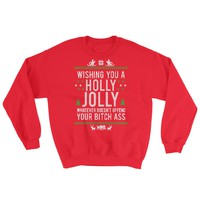 Whatever Doesn't Offend You (Naughty) | Funny Ugly Christmas Sweater