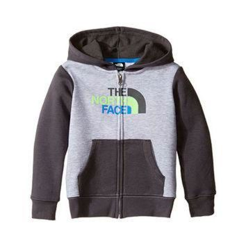 ICIKIJG The North Face Kids Logowear Full Zip Hoodie (Toddler) TNF Light Grey Heather -
