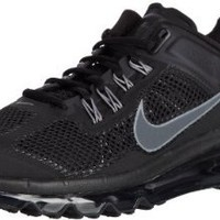 Nike Men's NIKE AIR MAX+ 2013 RUNNING SHOES 9 Men US (BLACK/DARK GREY)