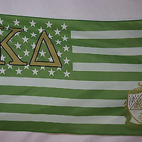 Kappa Delta US Style L College Sorority Official Licensed Flag 3x5
