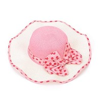 Women Breathable UPF 50+ Sun Protective Straw Hat Wide Brim Foldable Visor Holiday Sunhat