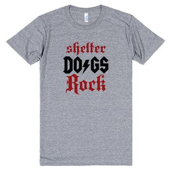 Shelter Dogs Rock Tee