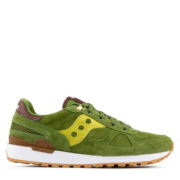Saucony Shadow Original Men's Sneaker in Green/Gold