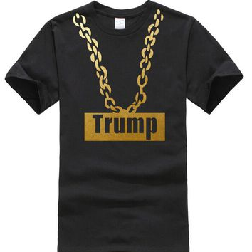 Trump Gold Chain All Over Print T-Shirts - Men's Tee