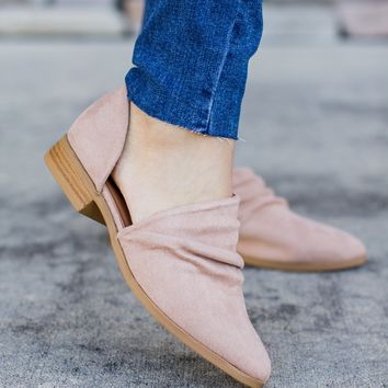 Ballerina Cut-Out Bootie