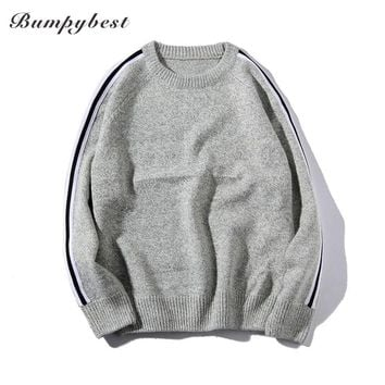 O-Neck Pullover Men thick Clothing Winter New Arrival Cashmere Wool Sweater