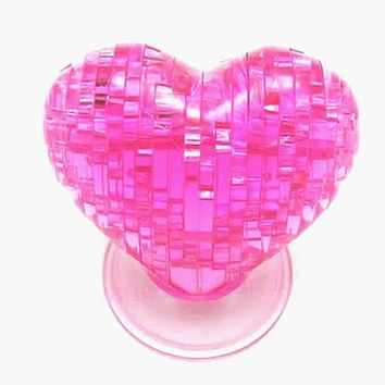 3D Crystal Love Heart Puzzle