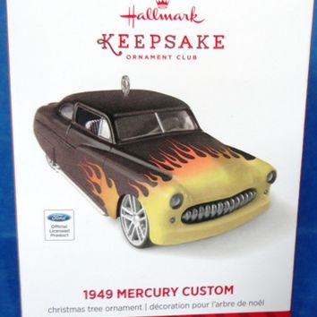 2014 Hallmark 1949 Mercury Custom Car Club Ornament