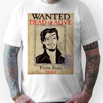 Flynn Rider: Wanted Poster Unisex T-Shirt